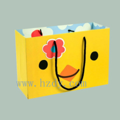 Cute paper bag for chindren's gift