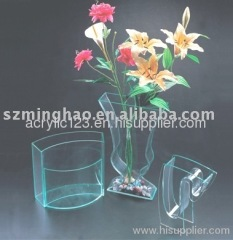 beautiful acrylic vase