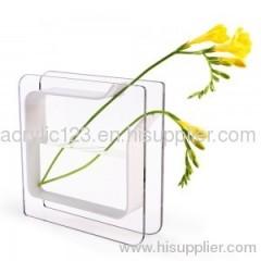 clear acrylic vase foe home&hotel