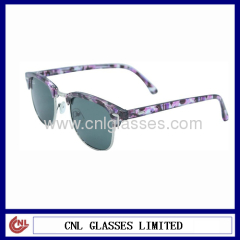 handmade hot styles acetate sunglasses with metal frames