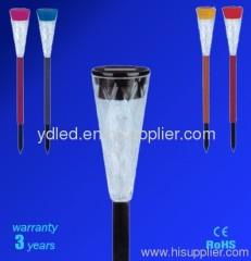 led solar light;plastic solar light