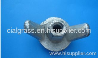 Concrete Formwork Accessories-Q235 Drop Forged Wing Nut for forwork