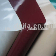 PVC laminated for building cover, truck cover, awning Rain and sunshine shelter