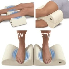 Leg massage pillow