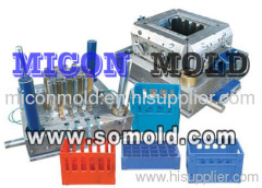 plastic injection beer case mould