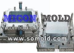 plastic turnover crate mould