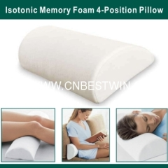 Memory Foam 4-Position Pillow