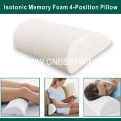 Memory Foam 4-Position Pillow