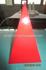 acrylic pyramid shape box