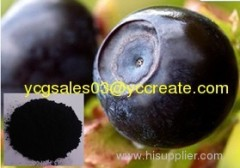 Bilberry extract; 25% Anthocyanidins; Herbal Extract
