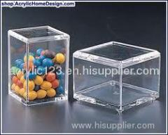acrylic merchandising display box