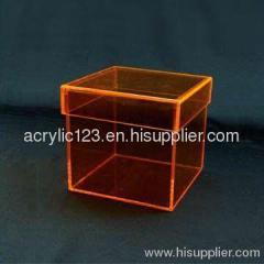 Acrylic collection case