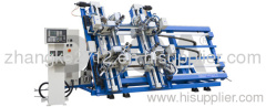 Vertical Four Point Welding Machine CNC