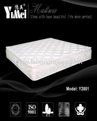 plush cloth Spring comfort mattress