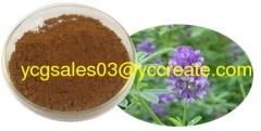 Alfalfa P.E.; saponins ; Herbal extract