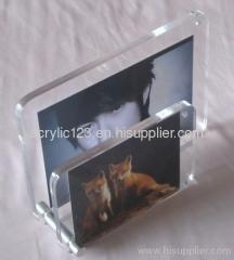 acrylic 2 pcs combined photo frame