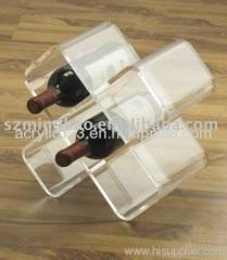 Acrylic bottle display & acrylic wine display