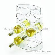 Acrylic Wine Display Holder