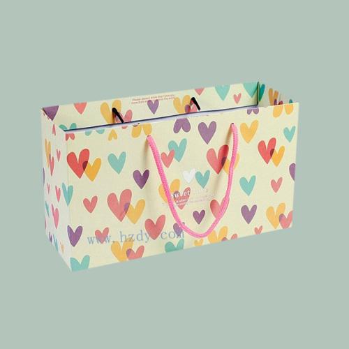Mini paper shopping bag