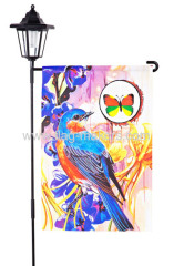 Custom Spring bird garden flag