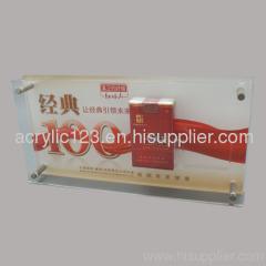 LED Acrylic Cigarettes Stand