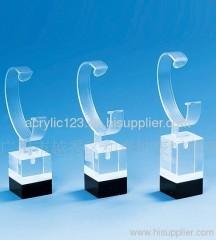 acrylic floor standing watch display stand