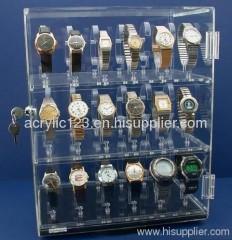 acrylic countertop watch display