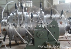 PE water supply and gas pipe extrusion line