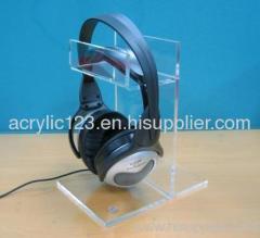 Acrylic Headphones Rack