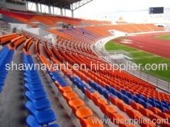 High-quality sports HDPE middle backrest stadium seat stadiu
