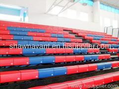 telescopic seating retractable seating sports tribune syste