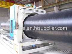 PE water supply and gas pipe extrusion machine