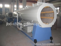 HDPE gas and water supply pipe extrusion line