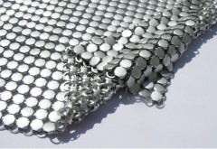 Metal Sequin Cloth silver colorcurtain