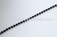 decorative black ball bead curtain