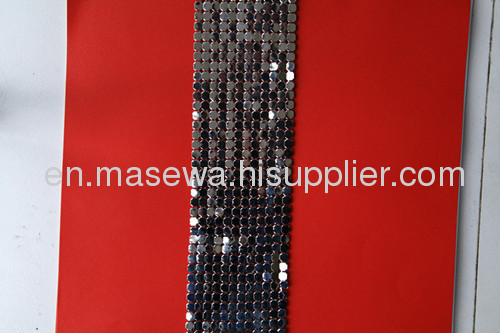 gun black metallic cloth