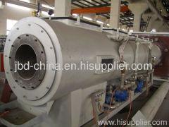 HDPE pipe making machine