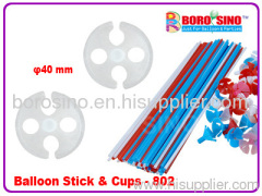 plastic balloon stick