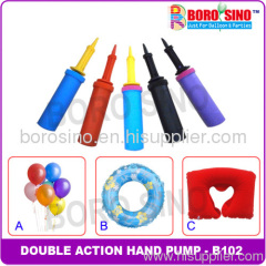 plastic balloon hand pump
