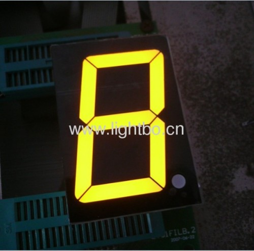 2.3 inches common anode super bright red 7 segment led displays