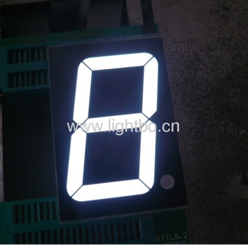 "2.3"" white 7 segment led display ;7 segment white 2.3"";"