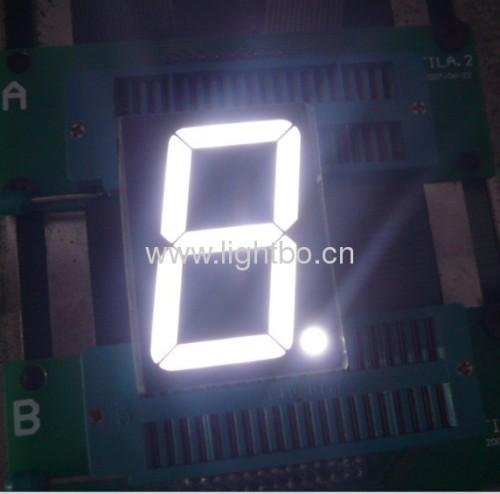 чистый белый 1,2-дюймовый анод семь сегментов светодиодный дисплей для цифрового индикатора