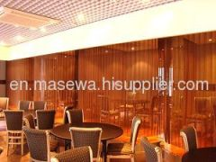 metal decorative mesh as dividers