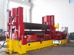 4 rollers rolling machine