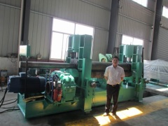 3 Hydraulic rollers machine