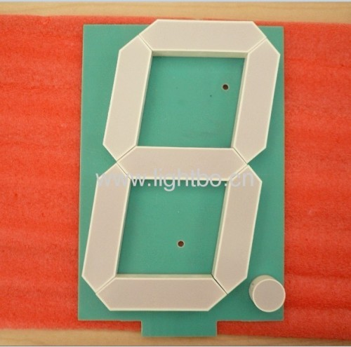 6-inch large size 7 segment led numeric displays for semi-outdoor application