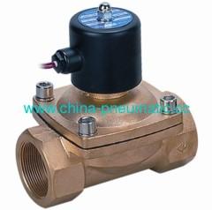 2W water solenoid valve