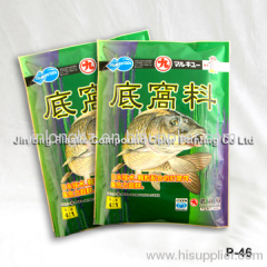 plastic fish food bag