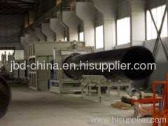 HDPE water suppy and drainage pipe extrusion line