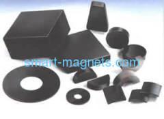 Sintered NdFeB magnet epoxy coating